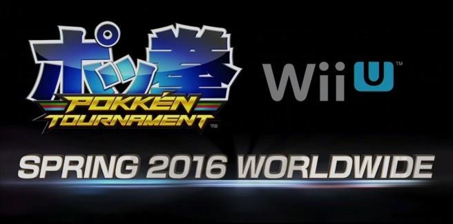 [Juegos] ¡Pokkén Tournament vendra a Wii U en 2016!