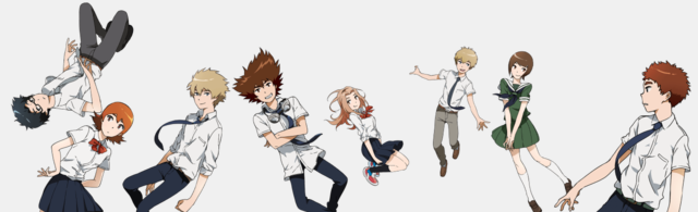 [Anime] Digimon tri muestra nuevos personajes e imágenes.