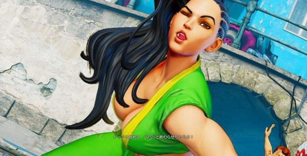 [Juegos] Vean a Laura. La nueva combatiente de Street Fighter 5