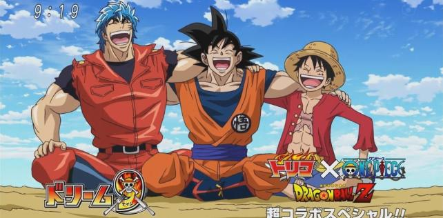 [Anime del Mes] Toriko x One Piece x Dragon Ball Z.