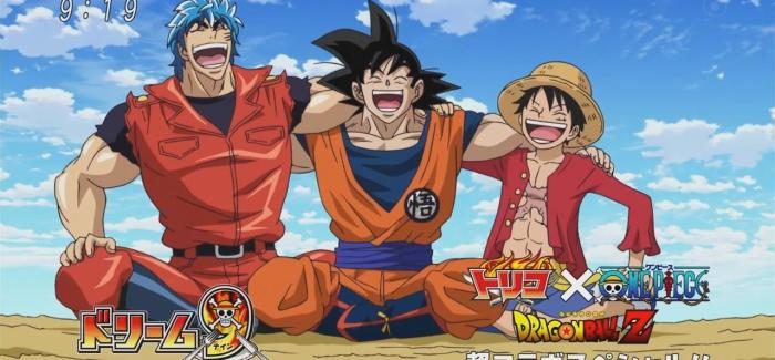 [Anime del Mes] Toriko x One Piece x Dragon Ball Z.