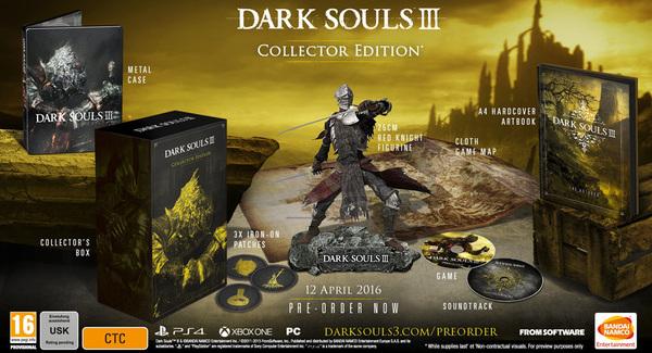 [Juegos] Dark Souls III tendrá dos ediciones especiales