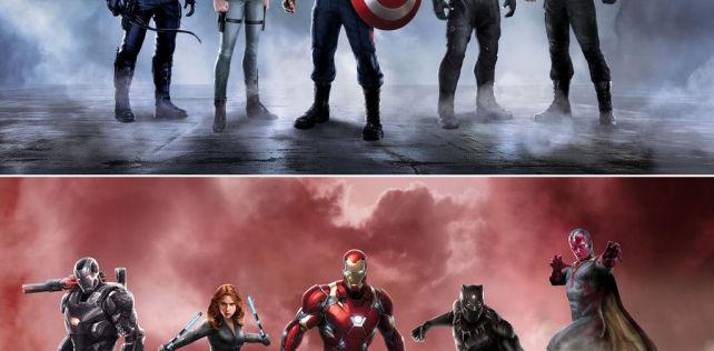[Cine/Comics] 1er trailer de Captain America: Civil War.