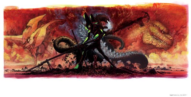 [Toku/Anime] ¿Crossover de Godzilla y Evangelion? ¿Y nuevo juego para Playstation?