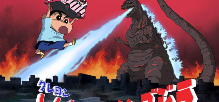 [Anime] Crayon Shin Chan tendrá crossover con…¿Godzilla?