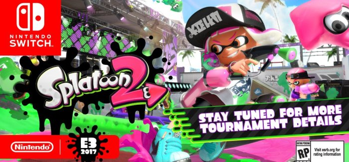 [Juegos] Nintendo dara un torneo de Splatoon 2 en el E3