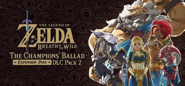 [Juegos] The Legend of Zelda: Breath of the Wild -The Champion´s Ballad- ya disponible