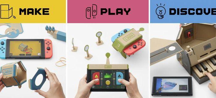 [Juegos] Nintendo presenta: Nintendo Labo